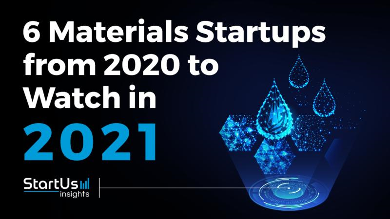 Top 6 World's Materials Startups You Should Watch in 2021.